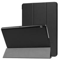 Huawei Mediapad T3 10 Standlı Mıknatıslı Ultra İnce Deri Kılıf