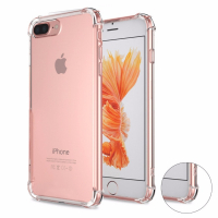 İPHONE 7 PLUS İPHONE 8 PLUS DARBE EMİCİ ŞEFFAF SİLİKON KILIF