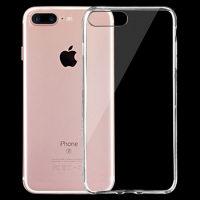 İphone 7 Plus, İphone 8 Plus Ultra Şeffaf Slim Soft Silikon  Kılıf