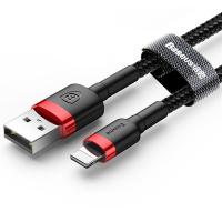 BASEUS İPHONE 5,6,7,8,X 2 METRE 2.4A HIZLI ŞARJ HALAT USB KABLO