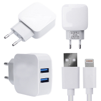 Anker 2.1a 2 Port Usb Çıkışlı +iphone Lightning Usb Kablo