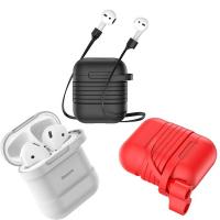 Baseus Airpods İçin Strap Kulaklık Askısı+ Silikon Kılıf