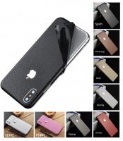 İphone X Xs Deri Görünümlü Arka+yan Kaplma Sticker