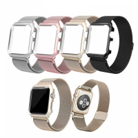 ALLY İWATCH İÇİN 42MM,2,3 METAL KAYIŞ MİLANO LOOP+METAL KILIF