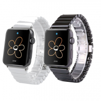 ALLY APPLE WATCH İÇİN 42MM SERAMİK METAL KORDON KAYIŞ