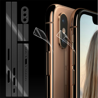 İPhone X,XS 5.8 Hidrojel Hayalet Yan Alt Üst Kamera Kaplama