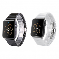 ALLY APPLE WATCH İÇİN 38MM SERAMİK METAL KORDON KAYIŞ