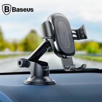 Baseus 2in1 Wireless Kablosuz Araç Hızlı Şarj Tutucu İphone X,Xr Xs Max
