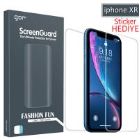 Gor İphone Xr 3d Ön Arka Darbe Emici Full Pet Koruyucu