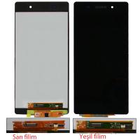 Sony Xperia Z2 D6502 D6503 D6543 Dokunmatik Ve Ekran Yeşil Filim