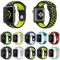 ALLY APPLE WATCH İÇİN 42MM İÇİN NİKE STYLE SOFT SİLİKON KAYIŞ