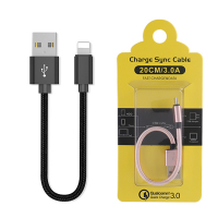 Ally İphone İos 3.0a Hızlı Şarj Halat Usb Kablo 20cm