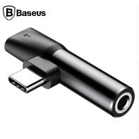 Baseus L41 Usb Type C 3.5mm Kulaklık Ve Şarj Dönüştürücü Başlık