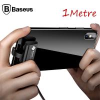 BASEUS SUCTİON CUP 1M 2.4A HIZLI İPHONE İÇİN OYUNCU USB KABLOSU