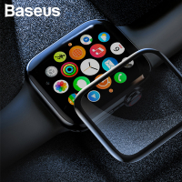 Baseus Apple Watch 1,2,3,42mm 3D 3D Kavisli Tempered Kırılmaz Cam Koruyucu