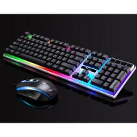 Ally G21 Usb Led Işıklı Oyuncu Klavye Ve Mouse Set
