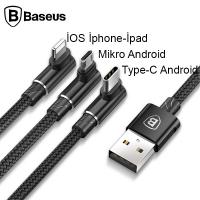 BASEUS MVP 3İN1, TYPE C İPHONE VE MİCRO USB OYUNCU ŞARJ KABLOSU