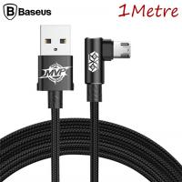 BASEUS MVP DİRSEK UÇLU MİCRO USB  2.0A OYUNCU USB KABLO 1METRE