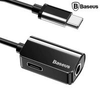 BASEUS L40 USB TYPE C 3.5MM KULAKLIK VE ŞARJ ÇEVİRİCİ ADEPTÖR