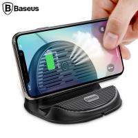Baseus Silicone Horizontal Stand Wireless Kablosuz Şarj Cihazı