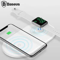 BASEUS SMART 2İN1 WİRELESS KABLOSUZ ŞARJ CİHAZI APPLE WATCH XS XS MAX