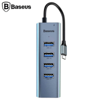 Baseus Cahub-Q0g Enjoy Series  Usb Type-C To  5in1 Usb Hub Çoğaltıcı