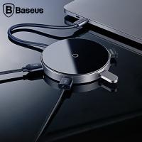 Baseus Circular Mirror Wireless Kablosuz Şarj+usb 3.0 Hub