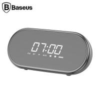 Baseus E09 Çok Amaçlı Işıklı Çalar Saat Gece Lambası Bluetooth Speaker Hoparlor