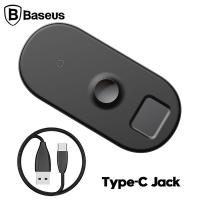 Baseus Smart 3in1 Wireless Kablosuz Şarj iPhone+iWatch+AirPods(18W MAX)