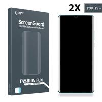 Gor Huawei P30 Pro 3d Kavisli Full Kaplama Darbe Emici Ekran Koruyucu 2 Adet Set
