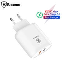 Baseus Bojure Series Dual-USB QC 3.0 18W Hızlı Şarj Aleti Başlık