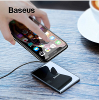 Baseus Card Ultra-Thin İnce Wireless Kablosuz Şarj 15W