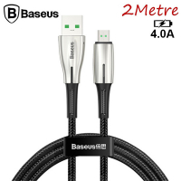 Baseus Waterdrop Mikro Usb 4A Hızlı Şarj Usb Kablo 2 Metre Hızlı Kablo