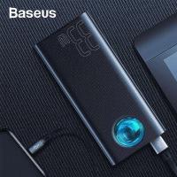 Baseus Amblight 33W (PD3.0+QC3.0) 30000mAh Dijital Gösterge Hızlı Şarj Powerbank