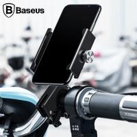 Baseus Knight Motorcycle Holder Motosiklet-Bisiklet telefon tutucu