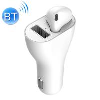 Ally 2in1 Arada Araç Şarj Adaptörü+ Bluetooth Kulaklık Headset