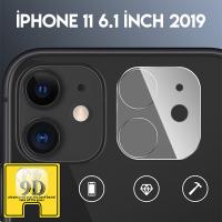 iPhone 11 6.1inch 2019 Full Tempered Kamera Koruyucu Kırılmaz Cam