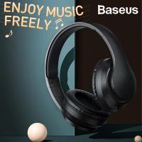 Baseus Encok D07 Mega bas Kablosuz kulaklık Bluetooth 5.0