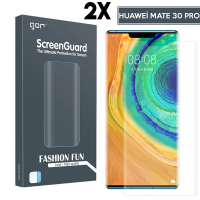 Gor Huawei Mate 30 Pro 3d Kavisli Full Kaplama Darbe Emici Ekran Koruyucu 2 Adet Set