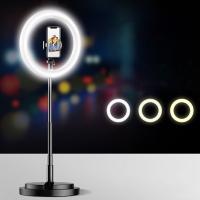 Usams US-ZB120 18 inç Led Işıklı Portatif Tripod Youtuber Kuaför Makyaj Işığı