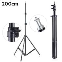 Ally 2 metre 200CM Işık Ayağı Light Stand+Tripod Ayağı Stand