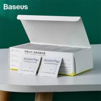 Baseus Disposable Alcohol Prep Pad Dezenfeksiyon Mendil 100+20 Pcs