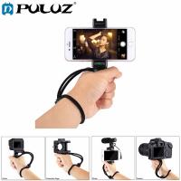 PULUZ Video Grip Telefon Elde Tutucu+ Bileklik Tripod Adaptörü