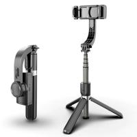ALLY L08 Gimbal 3 Eksenli Telefon ve Kamera Sabitleyici Bluetooth Selfie Vlog Tripod