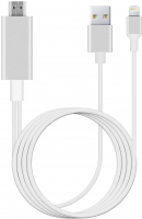 iPhone 11-XS-7-8 MHL HDMI Tv Bağlantı Kablosu HDTV Görüntü Aktarıcı