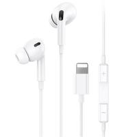 USAMS US-SJ453 İPhone 11-XS XR 7-8 Kulaklık Lightning Mikrofonlu Kulaklık