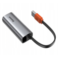 BASEUS Steel Cannon Series USB A Ethernet adaptörü  RJ45 Lan