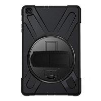 Galaxy Tab A7 10.4 SM-T500-T505-T507 Kılıf Shockproof 3 Katmanlı Standlı Zırh Kılıf Kalem Yerl