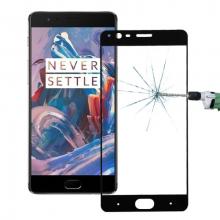Oneplus 3,3t 3D Full Kaplama Renkli Kırılmaz Cam Ekran Koruyucu