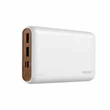 WOPOW P200,20000 MAH 2 USB ÇIKIŞLI POWER BANK HARİCİ YEDEKLEME PİL ŞARJ